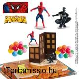 Tortaszett/Spiderman